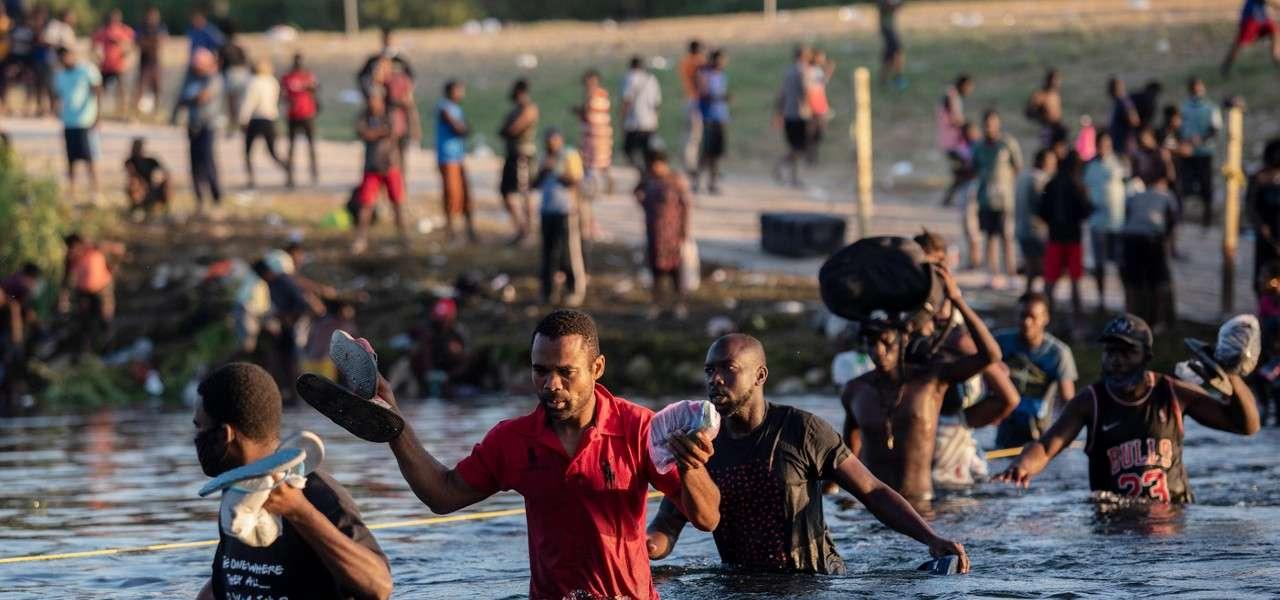 immigrazione migranti haiti texas 1 lapresse1280
