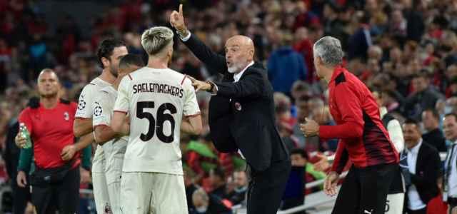 Pioli Saelemaekers Calabria Bennacer Milan Anfield lapresse 2021 640x300