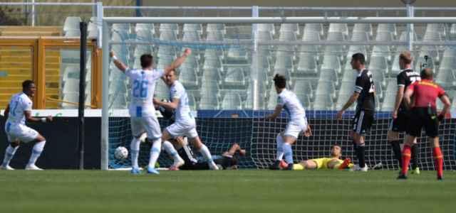 Pescara Entella gol lapresse 2021 640x300