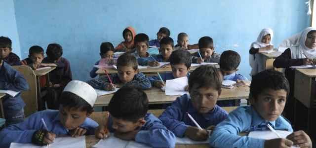 afghanistan scuola bambini 1 lapresse1280 640x300