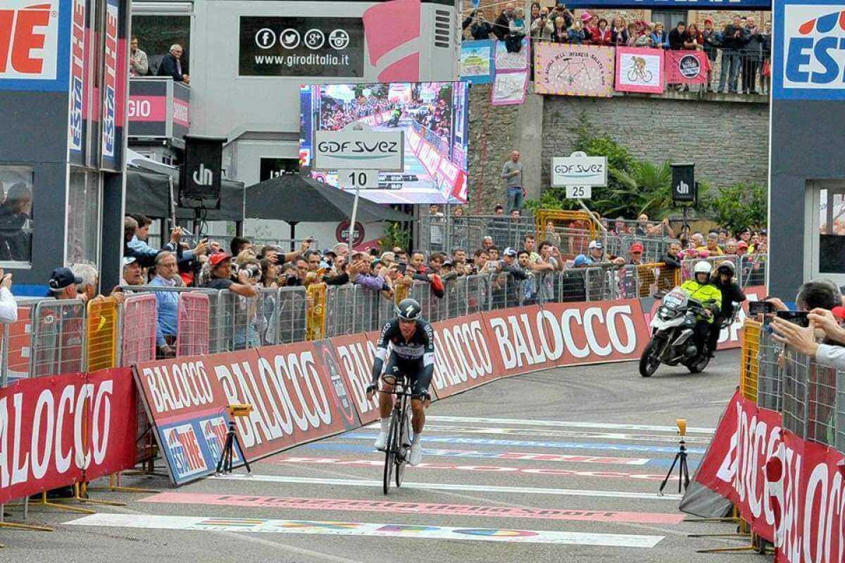 Giro D Italia 2014 Classifica Generale E Ordine D Arrivo Cronometro Barbaresco Barolo Rigoberto Uran Tappa E Maglia 12a Tappa 22 Maggio